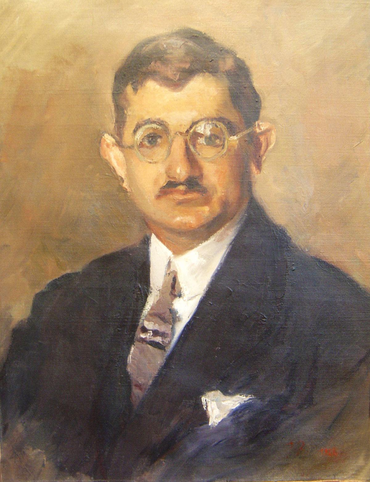 georgios bouzianis 1885 1959 portrait of a man martinos